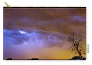 Colorful Cloud To Cloud Lightning Stormy Sky Carry-all Pouch by James BO  Insogna