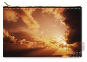 Colorful Cloudburst Carry-all Pouch