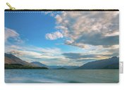 Colorful Clouds At Golden Hour On Lake Wakatipu At Glenorchy, Nz  Carry-all Pouch