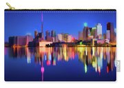 Colorful Cn Tower  Carry-all Pouch
