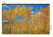 Colorful Colorado Autumn Landscape Carry-all Pouch