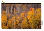 Colorful Colorado Autumn Landscape Vertical Image Carry-all Pouch