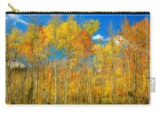 Colorful Colorado Fall Foliage Carry-all Pouch