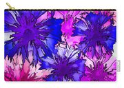 Colorful Cornflowers Carry-all Pouch