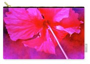 Colorful Cosmic Flower-hibiscus Carry-all Pouch