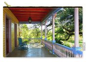 Colorful Creole Porch Carry-all Pouch by Carol Groenen
