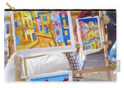 Colorful Cuban Art Carry-all Pouch