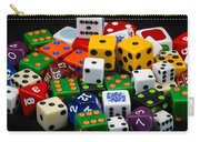 Colorful Dice 2 Carry-all Pouch