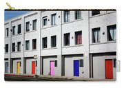 Colorful Doors- By Linda Woods Carry-all Pouch