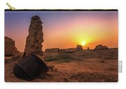 Colorful Evening In The Ruined World.. Carry-all Pouch