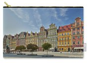colorful facades on Market Square or Ryneck of Wroclaw Carry-all Pouch