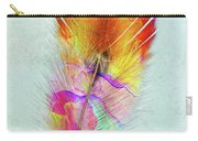 Colorful Feather Art Carry-all Pouch
