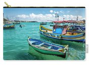 Colorful Fishing Boats Carry-all Pouch