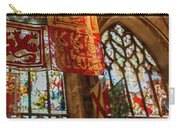 Colorful Flags And Stained Glasss Windows Carry-all Pouch