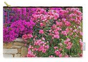 Colorful Flowering Shrubs Carry-all Pouch