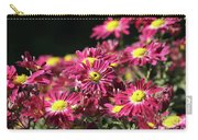 Colorful Flowers Carry-all Pouch