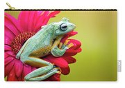 Colorful Frog Carry-all Pouch