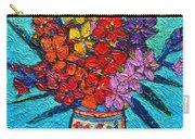 Colorful Gladiolus Carry-all Pouch