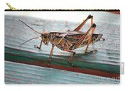 Colorful Grasshopper Carry-all Pouch