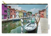 Colorful Homes Of Burano Carry-all Pouch