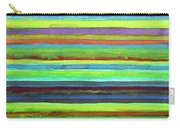 Colorful Horizontal Stripes Carry-all Pouch