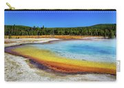 Colorful Hot Spring In Yellowstone Carry-all Pouch