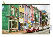 Colorful Houses In St Johns In Newfoundland Carry-all Pouch