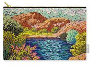 Colorful Hueco Tanks Carry-all Pouch