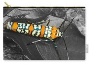 Colorful Insect - Ornate Bella Moth Carry-all Pouch