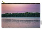 Colorful Lake-side Sunset Carry-all Pouch