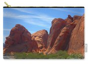 Colorful Landscape Rock Mountains Of Overton Nevada  Carry-all Pouch