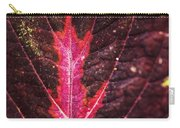 Colorful Leaf By Mother Nature Carry-all Pouch