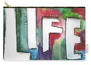 Colorful Life- Art By Linda Woods Carry-all Pouch