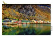Colorful Lofoten, Norway Carry-all Pouch