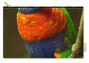 Colorful Lorikeet Carry-all Pouch