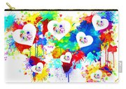 Colorful Love Carry-all Pouch