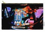 Colorful Machine In Blue And Purple Carry-all Pouch