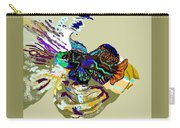 Colorful Manderin Fish Carry-all Pouch