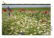 Colorful Meadow With Wild Flowers Carry-all Pouch