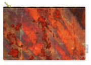 Colorful Metal Abstract With Border Carry-all Pouch