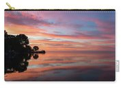 Colorful Morning Mirror - Spectacular Sky Reflections At Dawn Carry-all Pouch
