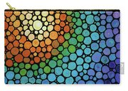 Colorful Mosaic Art - Blissful Carry-all Pouch