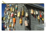 Colorful New England Buoys Carry-all Pouch