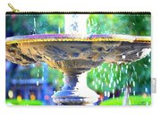 Colorful New Orleans Fountain Carry-all Pouch