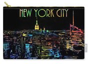 Colorful New York City Skyline Carry-all Pouch