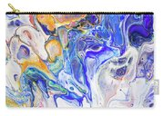 Colorful Night Dreams 5. Abstract Fluid Acrylic Painting Carry-all Pouch