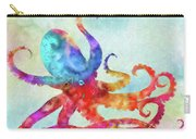 Colorful Octopus Carry-all Pouch