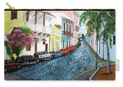 Colorful Old San Juan Carry-all Pouch