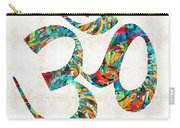 Colorful Om Symbol - Sharon Cummings Carry-all Pouch