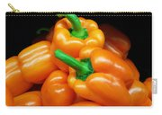 Colorful Orange Bell Peppers Carry-all Pouch